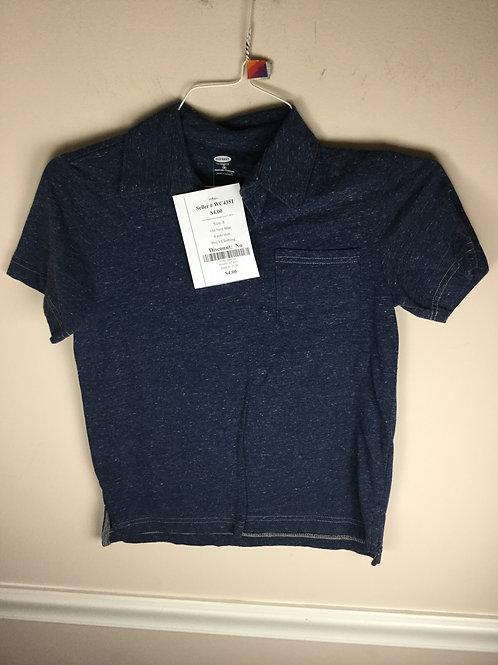 Old Navy Blue B polo shirt