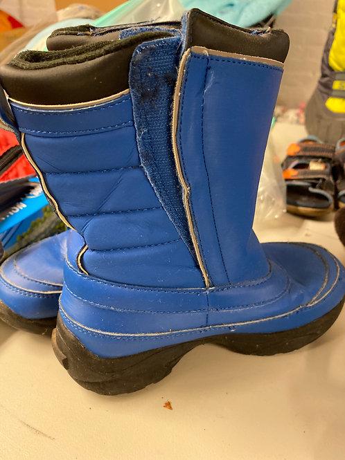 Snow boots Blue black