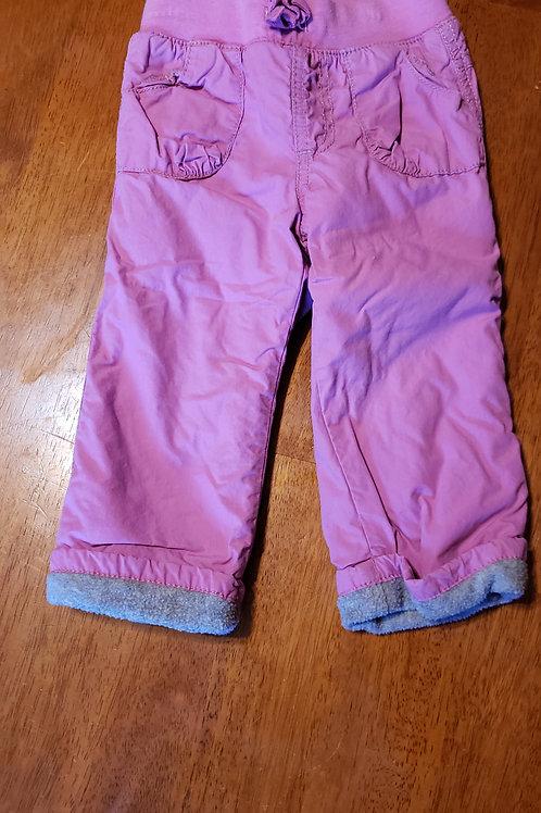 ON purp pants fleece lined