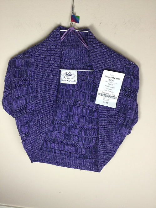 OI Justice purple B sweater