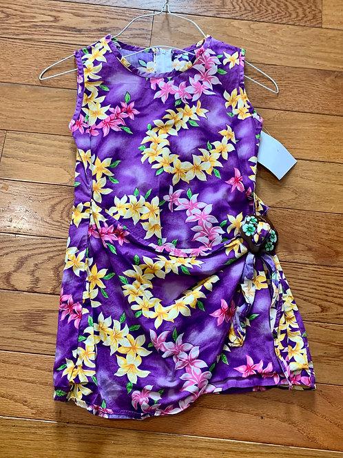Hawaii station Purple dress flowers