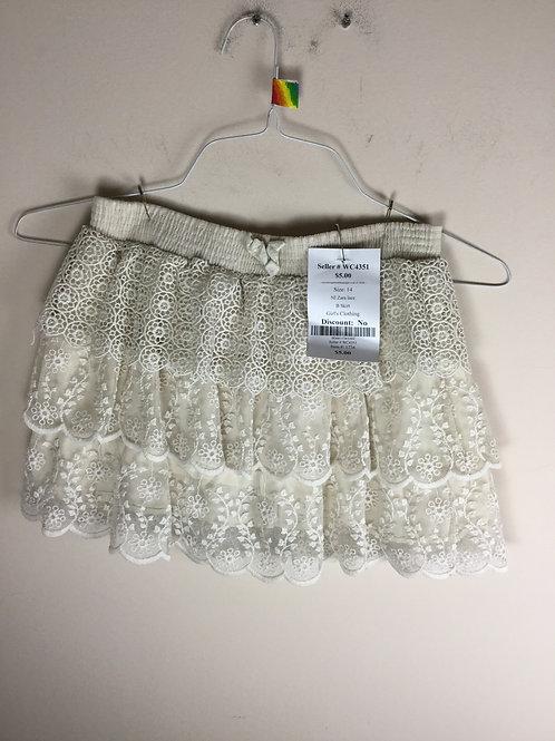 NI Zara lace B Skirt