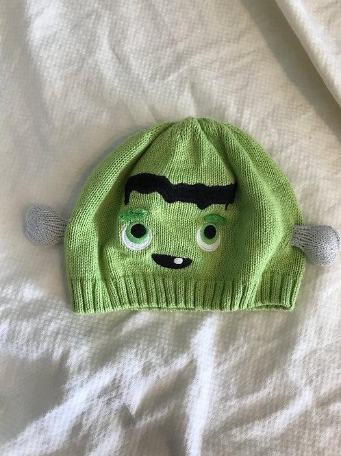 Gymbo baby hat Frankenstein green