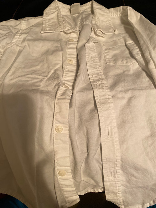 Old navy ls white Button down