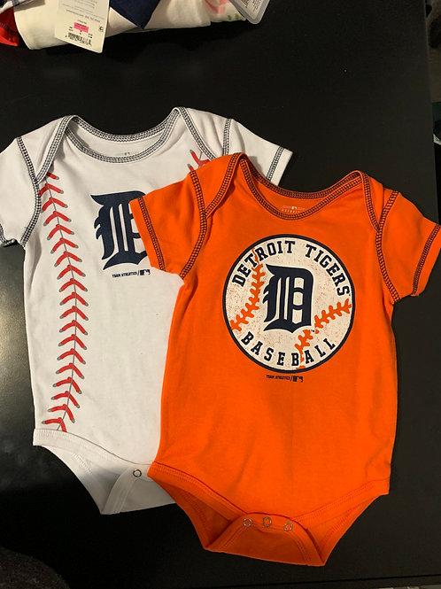 genuine merchandise detroit tigers onsies new