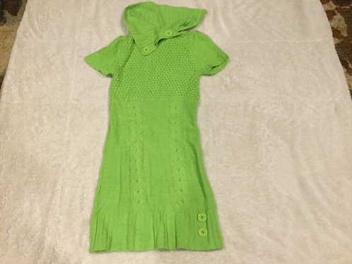 Dollhouse Lime Green Sweater Dress