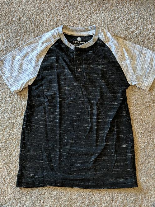 Cooper Denim Black grey sleeves SS