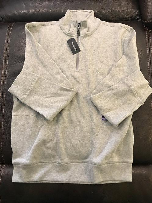 Nautica grey 1/4 zip Sweater brand new