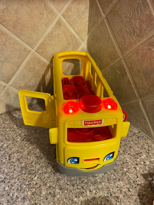 Fisher Price Bus only no people