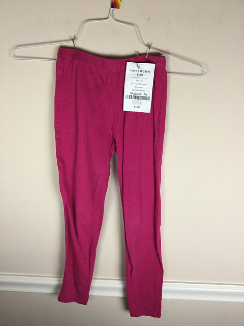 NI Limited Too pink B leggings