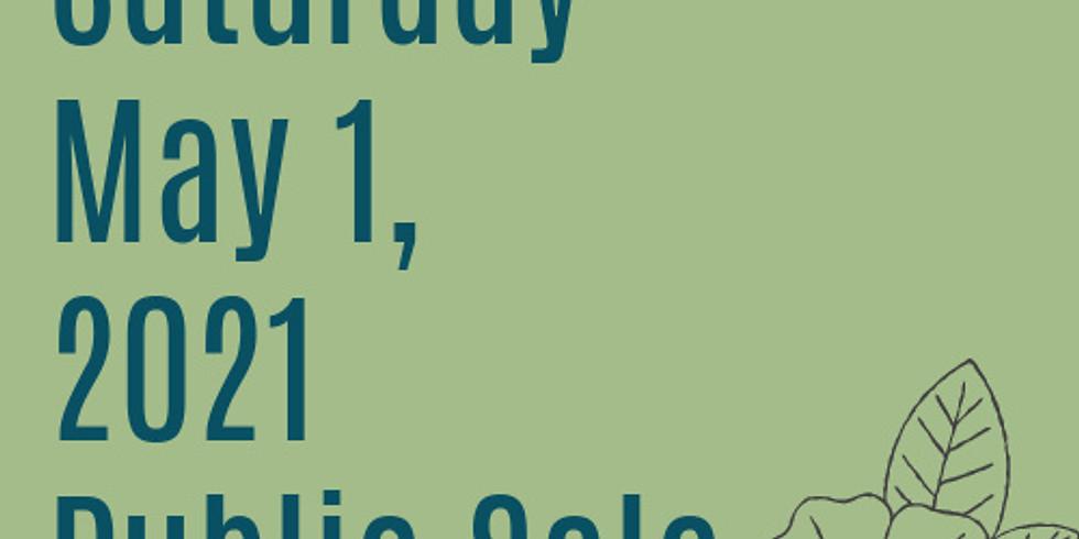Spring 2021 Public Sale - Saturday