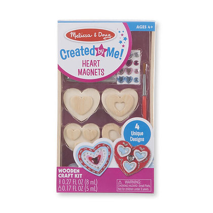 Melissa and Doug Created by Me! Heart Magnets