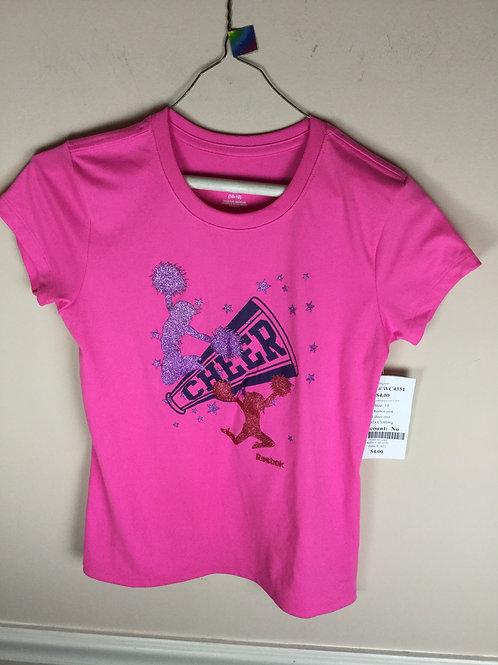 OI Reebok pink B cheer shirt