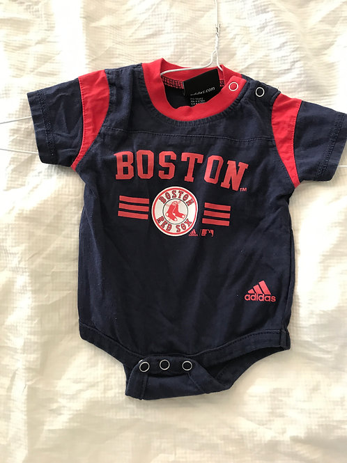 Adidas SS onesie Red/blue Red Sox