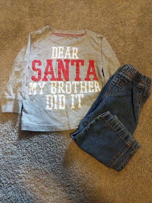 Carter's Dear Santa 2pc