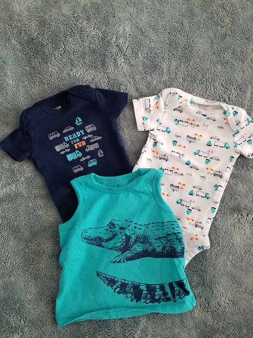 Just One You 3 summer shirts