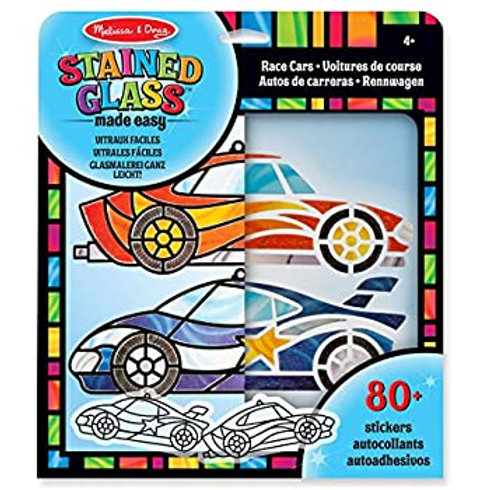 Melissa and Doug Stained Glass Made Easy Race Car