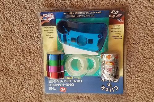 NEW click n stick tape dispenser