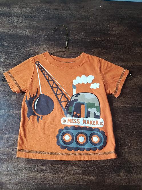 Jumping Beans Orange Crane shirt