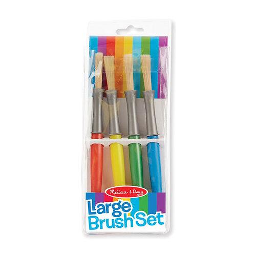 Melissa & Doug Large Paintbrush Set