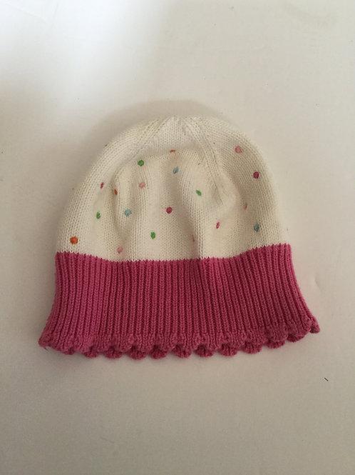 Gymboree pink Polka dot hat