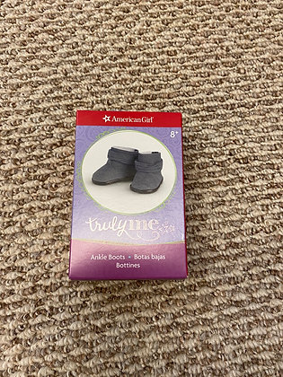 American Girl truly me grey ankle boots