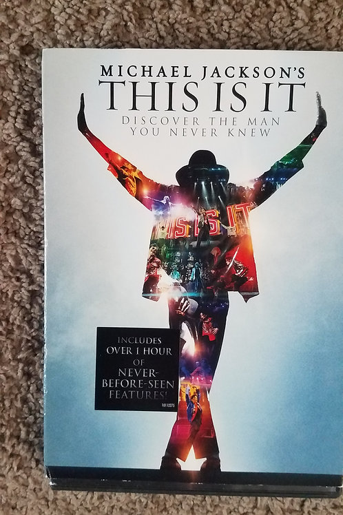 Michael Jackson DVD This is it