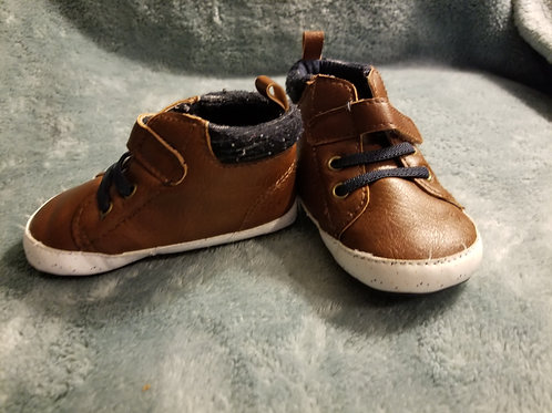 Carters Boots Brown-Sz. 6-9 months