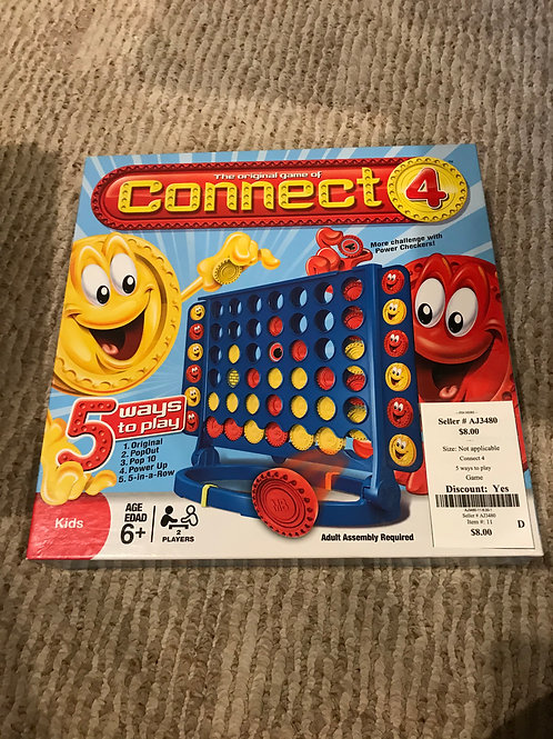 Connect 4 5 ways to play