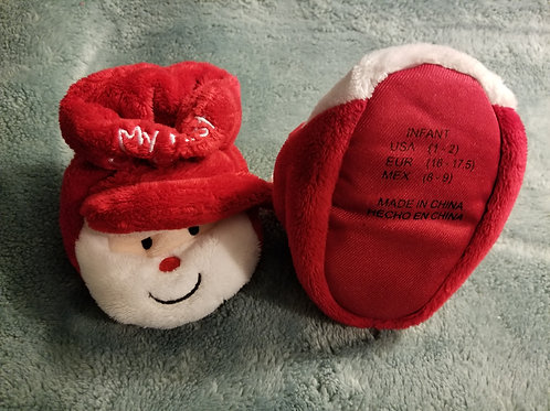 My First Christmas Holiday Booties