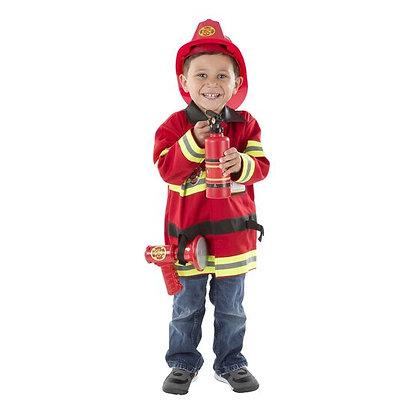 Melissa & Doug Fire Chief Role-Play Costume