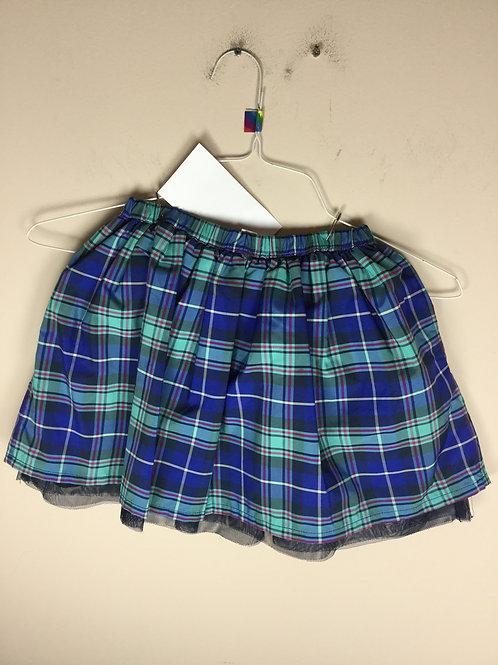OU Lands End B plaid skirt