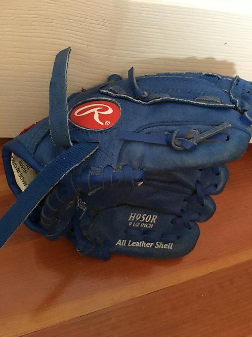 9.5 baseball glove Blue