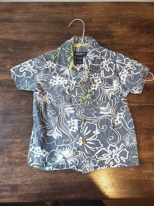 Cherokee Hawaiian button up shirt