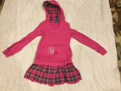 Childrens Place Pink Sweater Dress Peace