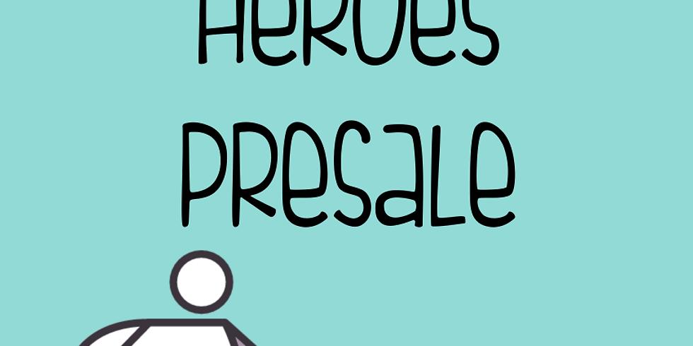 Spring 2020 -North Everyday Heroes Presale