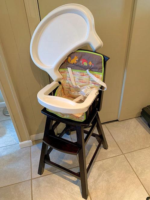 Summer Infant Espresso Wood Highchair