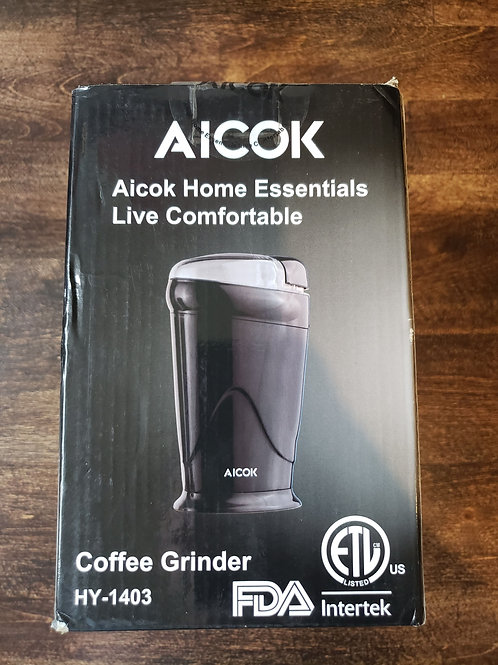 BRAND NEW Aicok Coffee Grinder Retail $25