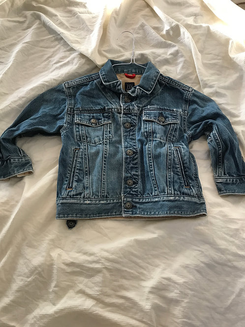 GAP jean jacket Button up