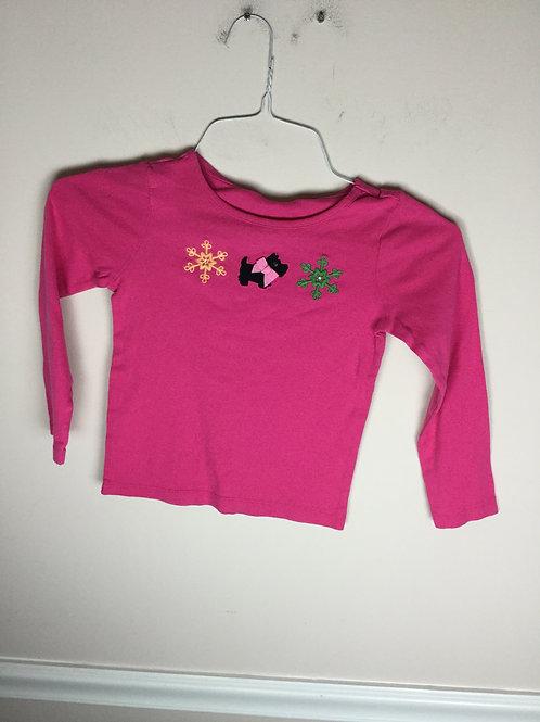 Gymboree pink Dog shirt