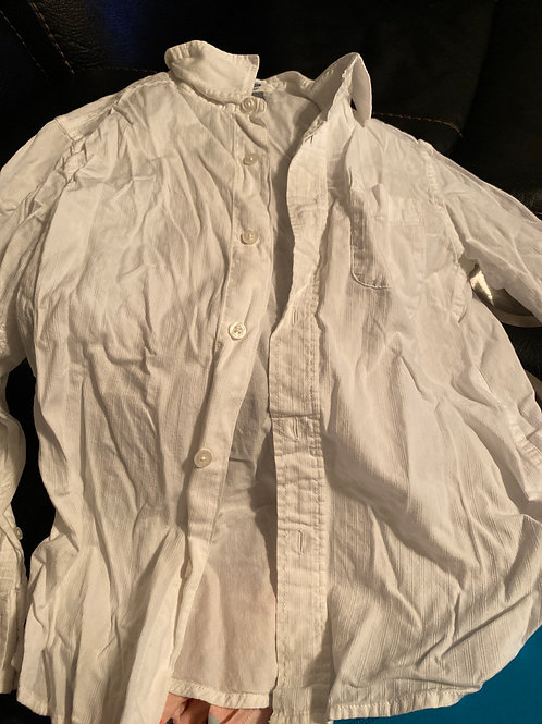 Old navy ls white Button down shirt