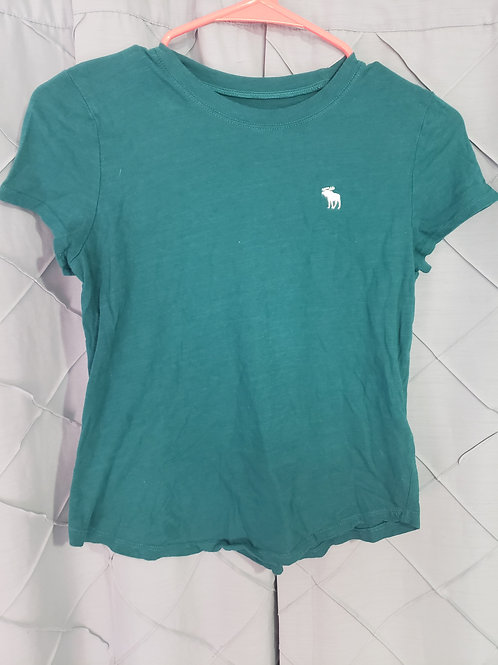 Abercrombie teal t shirt