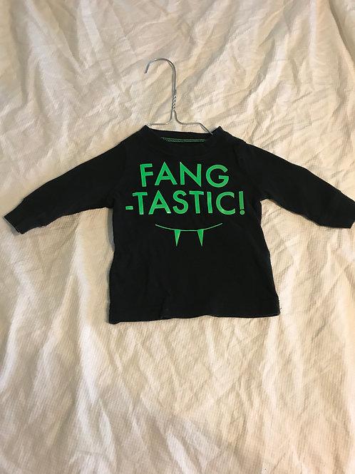 Carters 3m LS black Fangtastic