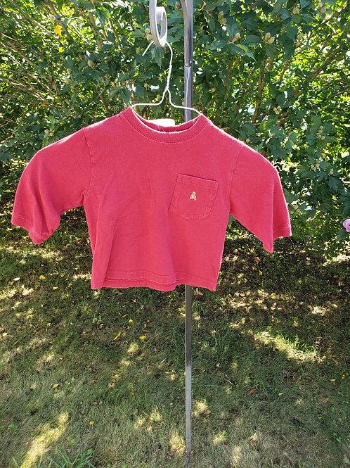 Baby Gap Red long sl shirt