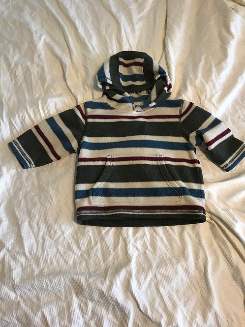 Gymbo 6-12m fleece SwShirt red/blue/green