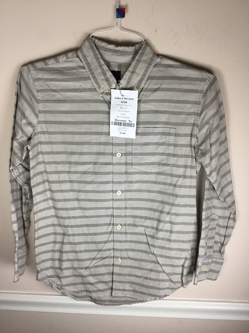 NI GAP striped B shirt