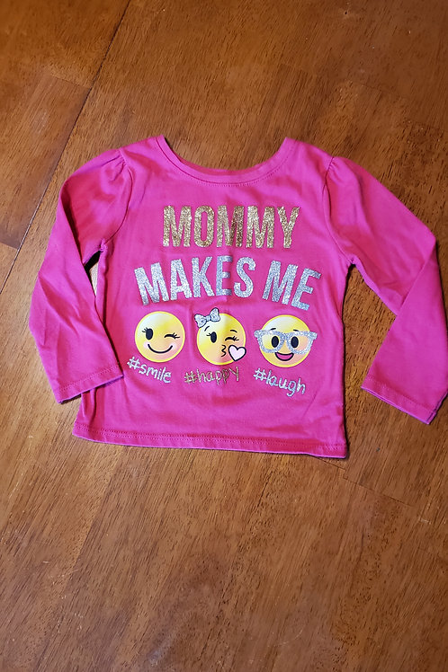 Garanimals pink LS mommy makes me