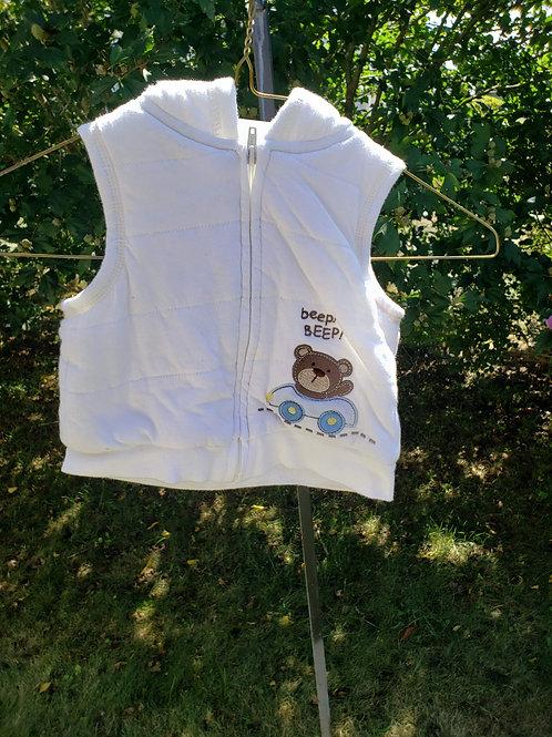 Little Wonders White Vest