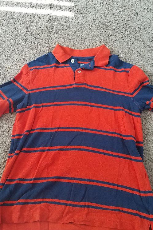 PS orange Ss polo Blue stripe