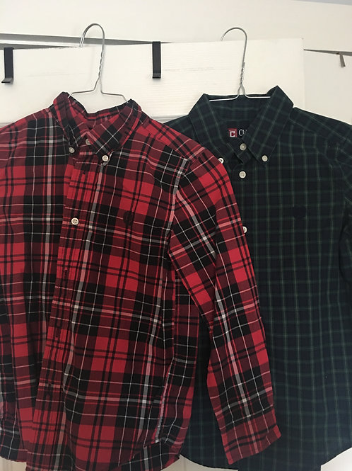 Chaps LS button down Set of 2